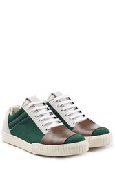 Marni Sneakers With Leather Multicolor