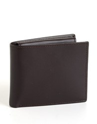 Perry Ellis Sutton Wallet Black Cherry Red