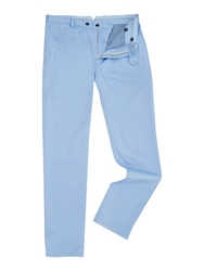 Richard James Slim Fit Casual Chino Sky