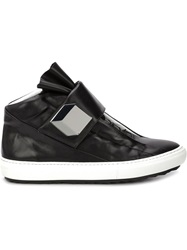 Pierre Hardy 'Magic' Hi Top Sneakers Black