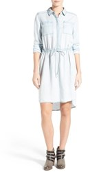 Women's Caslon Drawstring Waist Shirtdress