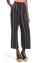Women's Leith Stripe Crop Wide Leg Pants