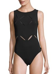 Shan Do You Think I Am Sexy One Piece Cutout Swimsuit Onyx