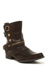 Penny Loves Kenny Swank Ankle Boot Brown
