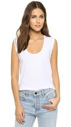 Lna Side Slit Deep U Tank White