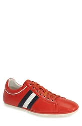 Carlo Pazolini Stripe Sneaker Men Red Navy White
