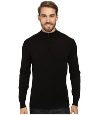 Smartwool Kiva Ridge Half Zip Black Men's Long Sleeve Pullover