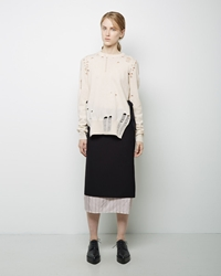 Maison Martin Margiela Defile Wrap Skirt Black