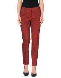 Cappellini Trousers Casual Trousers Women Maroon