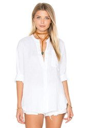 James Perse Dolman Tunic Shirt White