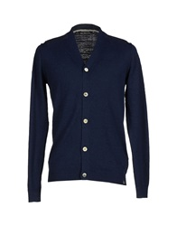 Duck And Cover Cardigans Dark Blue
