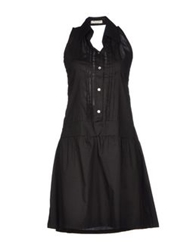 Pam And Arch Short Dresses Black