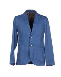 Reservado Suits And Jackets Blazers Men Blue
