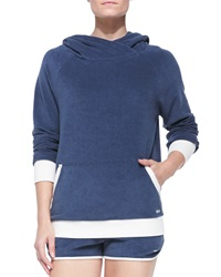 Marc By Marc Jacobs Jodie Velour Hooded Pullover
