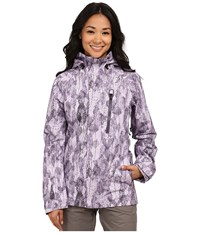 Burton Ak 2L Altitude Jacket Purple Label Leaf Collage Women's Jacket