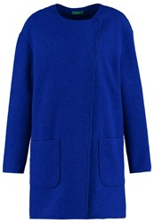 United Colors Of Benetton Classic Coat Royal Blue
