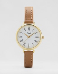Limit Tan Strap Watch Tan