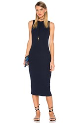 Gettingbacktosquareone The Sleeveless Sweater Dress Navy