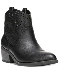 Fergalicious Winchester Western Booties Women's Shoes Black
