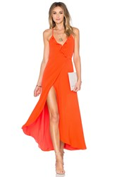 Lovers Friends Nostalgia Maxi Dress Coral