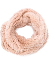 Jocelyn Infinity Scarf Pink And Purple