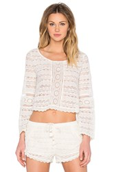 Amuse Society Hideaway Top Ivory