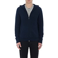 Vince. Men's Cashmere Hooded Sweater Blue