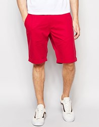 French Connection Chino Shorts Red