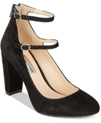 Inc International Concepts Mulli Mary Jane Pumps Only At Macy's Women's Shoes Black