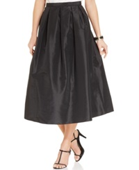 Marina Pleated A Line Midi Skirt