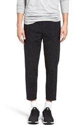 Obey Men's 'Late Night' Cropped Knit Pants