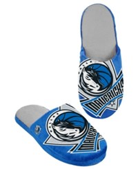 Forever Collectibles Men's Dallas Mavericks Big Logo Slippers