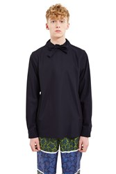 Opening Ceremony Lincoln Twill Pullover Shirt Ink