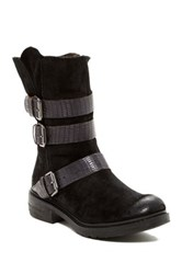 Manas Design Cola Buckle Boot Black
