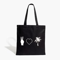 Madewell The Reusable Canvas Tote Icons Edition True Black