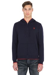 U.S. Polo Assn. Hooded Light Cotton Blend Sweatshirt