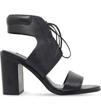Senso Valleri Vi Leather Heeled Sandals Black