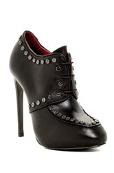 Diesel Spine And Heel Heelmill Bootie Black