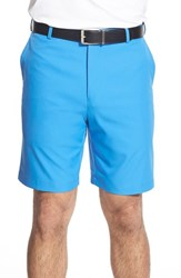Men's Big And Tall Peter Millar 'Salem' Flat Front Shorts Chesapeake