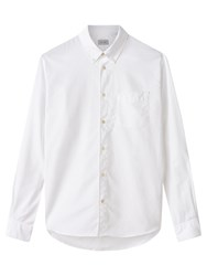 Jigsaw Bound Edge Oxford Shirt White