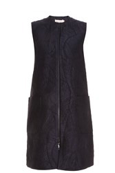 Merchant Archive Embossed Gilet Black