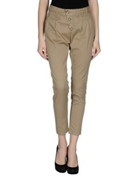 Baci And Abbracci Casual Pants Khaki
