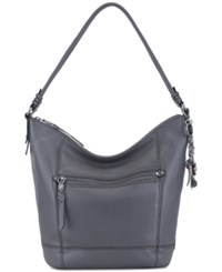 The Sak Sequoia Leather Hobo Slate