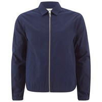 Folk Men's Zipped Jacket Bright Navy Blue