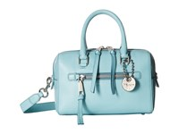 Marc Jacobs Recruit Small Bauletto Azur Satchel Handbags Blue