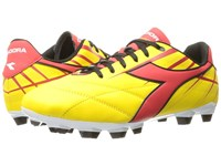 Diadora Forte Md Lpu Yellow Red Men's Soccer Shoes