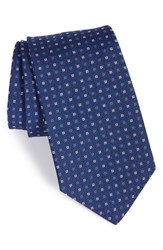 Gitman Brothers Vintage Men's Gitman Geometric Silk Tie Blue