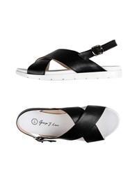George J. Love Footwear Sandals Women Black