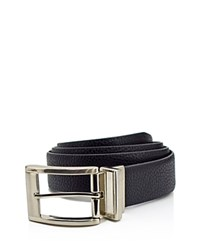 English Laundry Reversible Pebbled Leather Dress Belt Compare At 49.50 Black Brown