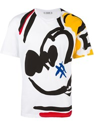Iceberg 'Mikey Mouse' T Shirt White